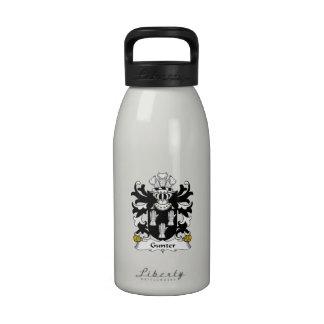 Gunter Family Crest Drinking Bottle