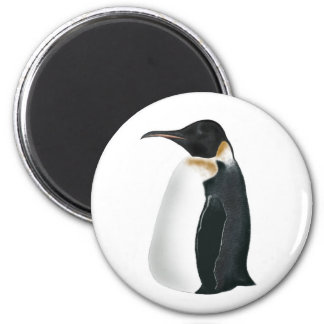 Gunter the Penguin 6 Cm Round Magnet