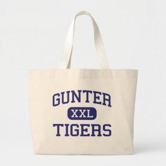 Gunter - Tigers - High School - Gunter Texas Jumbo Tote Bag