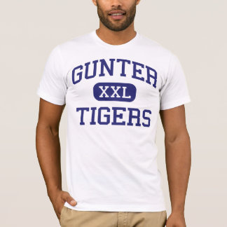 Gunter - Tigers - High School - Gunter Texas T-Shirt