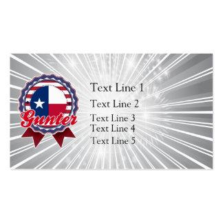 Gunter, TX Business Card Template