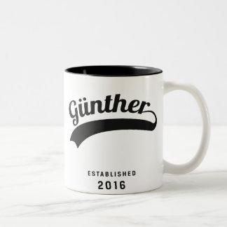 Günther original cup