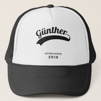 Günther original trucker hat