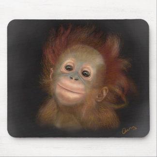 Gunung Baby Orangutan Mouse Mat
