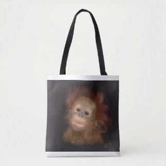 Gunung Baby Orangutan Tote Bag