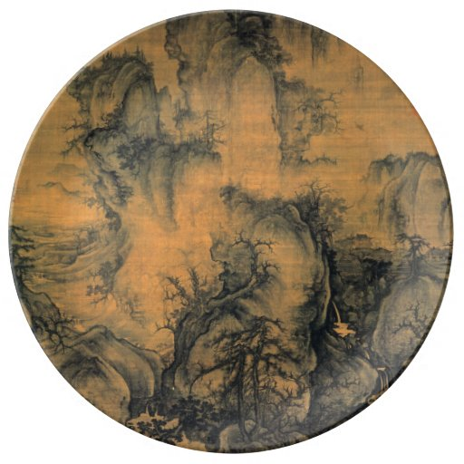 Guo Xi Early Spring Porcelain Plates