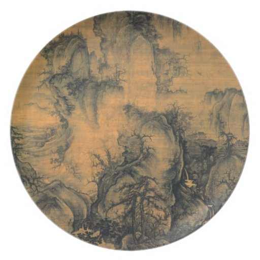 Guo Xi Early Spring Plates
