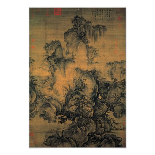 Guo Xi Early Spring Poster