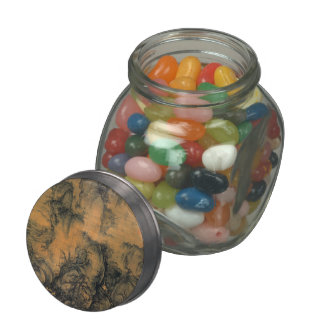 Guo Xi Early Spring Jelly Belly Candy Jar