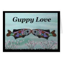 Guppy Love Anniversary Card