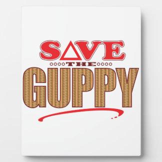 Guppy Save Plaque
