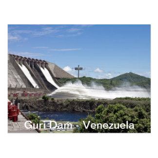Guri Postal Dam Postcard