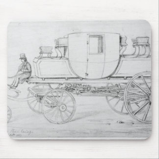 Gurney's Steam Carriage, 1827 Mouse Mat
