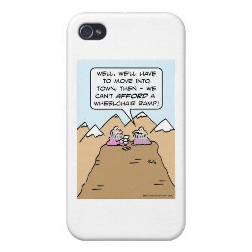guru can't afford wheelchair ramp for mountain. iPhone 4 cover