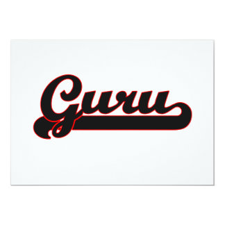 Guru Classic Job Design 13 Cm X 18 Cm Invitation Card