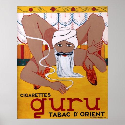Guru Tabac D' Orient Poster