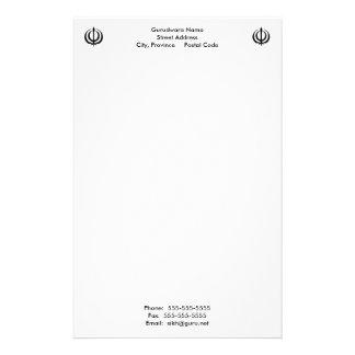 Gurudwara Notepad Stationery