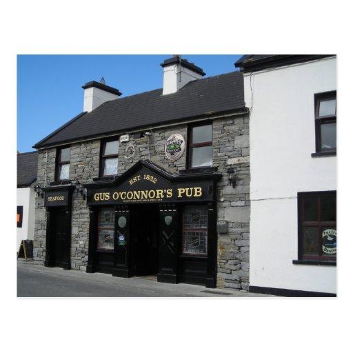 Gus O'Connor's Pub in Doolin Ireland Post Card