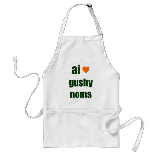 Gushy Noms Standard Apron