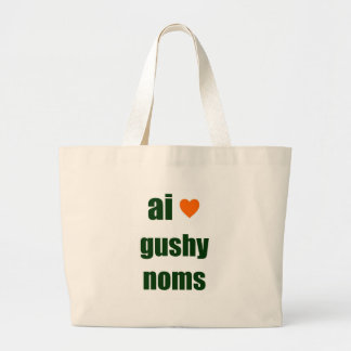 Gushy Noms Canvas Bag