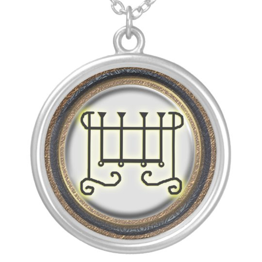 gusion silver plated necklace