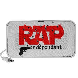 gust independent rap mini speakers