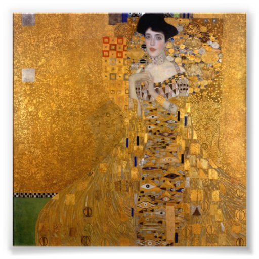 Gustav Klimt - Adele Bloch-Bauer I. Photograph