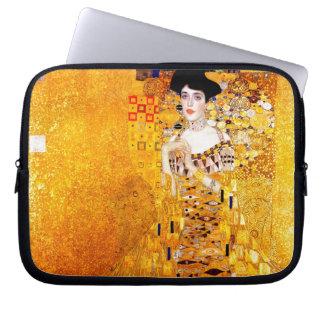 Gustav Klimt Adele Bloch-Bauer Vintage Art Nouveau Laptop Sleeve