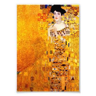 Gustav Klimt Adele Bloch-Bauer Vintage Art Nouveau Photo Art