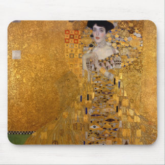 Gustav Klimt // Adele Bloch-Bauer's Portrait. Mouse Pad