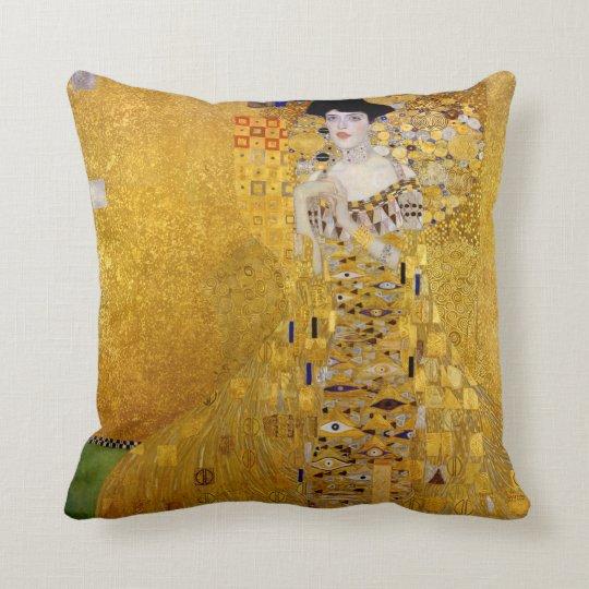 Gustav Klimt and Adele Bloch-Bauer's Portrait Cushion