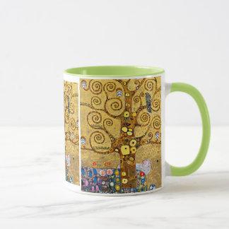 Gustav Klimt and The Tree of Life Mug