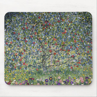 Gustav Klimt Apple Tree Mouse Pad
