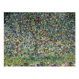 Gustav Klimt Apple Tree Postcard