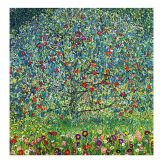 Gustav Klimt: Apple Tree Poster
