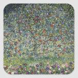 Gustav Klimt Apple Tree Stickers