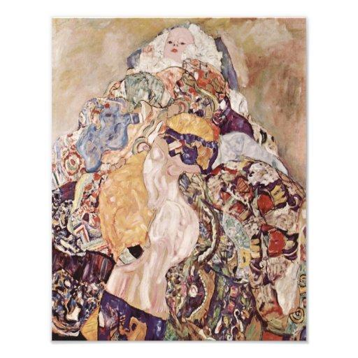 """Gustav Klimt """"Baby"""" 1918 Repro Print Photo Art"""