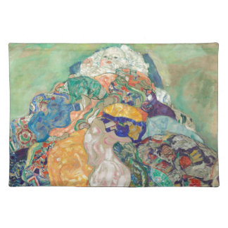Gustav Klimt Baby Cradle Cotton Place Mat