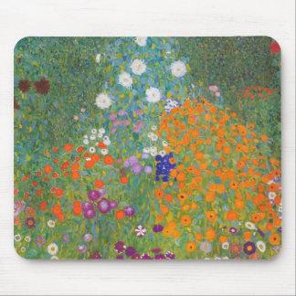 Gustav Klimt // Bauerngarten // Farm Garden Mouse Mat