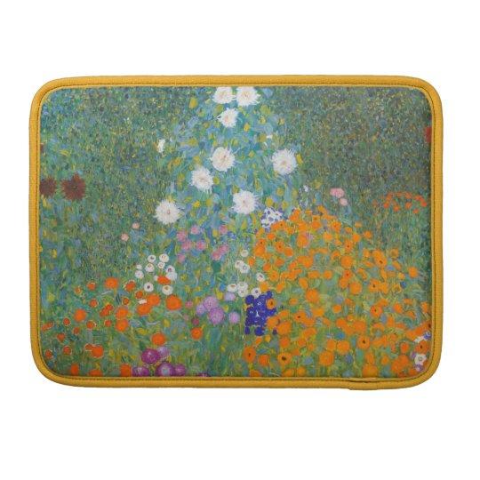 Gustav Klimt Bauerngarten Laptop Sleeve Sleeve For MacBooks