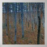 Gustav Klimt ~ Beech Grove Posters
