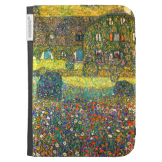Gustav Klimt: Country House at the Attersee Cases For Kindle