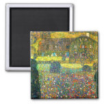 Gustav Klimt: Country House at the Attersee Magnets