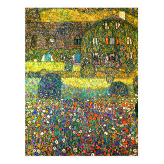 Gustav Klimt: Country House at the Attersee Postcard