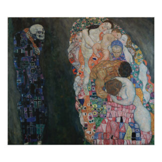Gustav Klimt - Death and Life, 1910 Poster