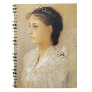 Gustav Klimt Emilie Floge Notebook