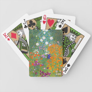 Gustav Klimt: Flower Garden Bicycle Playing Cards