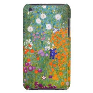 Gustav Klimt: Flower Garden iPod Case-Mate Case