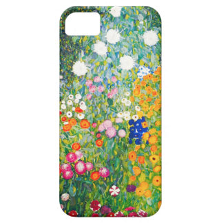 Gustav Klimt Flower Garden iPhone 5 Case