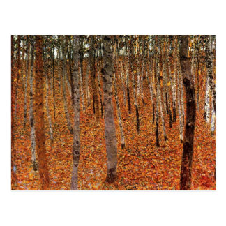 Gustav Klimt Forest of Beech Trees Fne Art Postcard